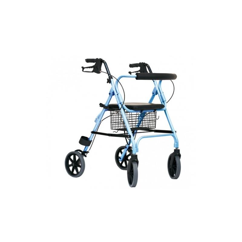 Rollator da esterno con sedile e schienale
